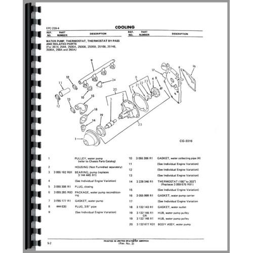 international harvester 674 tractor engine parts manual International Engine Parts Diagram international harvester d414 engine