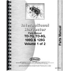International Harvester TD7G Crawler Parts Manual