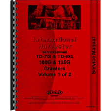 International Harvester TD7E Crawler Service Manual (SN# 9501 and Up) (Chassis)