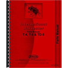 International Harvester T4 Crawler Parts Manual