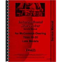 International Harvester Titan 10-20 Tractor Service Manual (Late)
