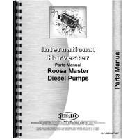 International Harvester Roosa Master Injection Pumps Parts Manual