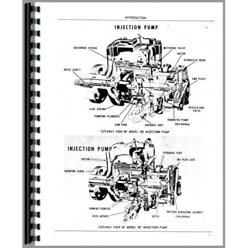 Roosa Master Injection Pump Diagram