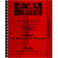 Farmall H Tractor Service Manual (all years, all sn#) (All Year)