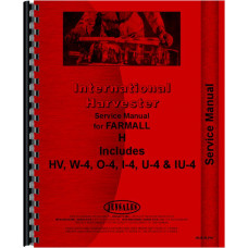 Farmall W4 Tractor Service Manual (all years, all sn#)