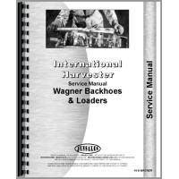 International Harvester 60 Wagner Backhoes Service Manual