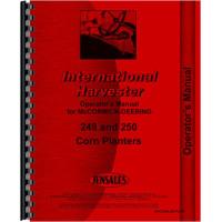 International Harvester 450 Planter Operators Manual (Corn Planter)