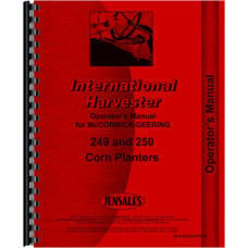 International Harvester 249 Planter Operators Manual (Corn Planter)