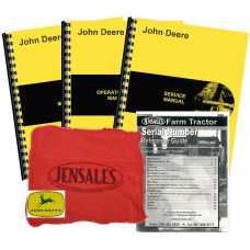 John Deere M Deluxe Tractor Manual Kit