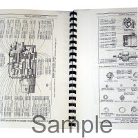 Caterpillar D6 Industrial/Construction Parts Manual (SN# 4R1-4R3633, 8E1 & Up) (6A 2G501+)