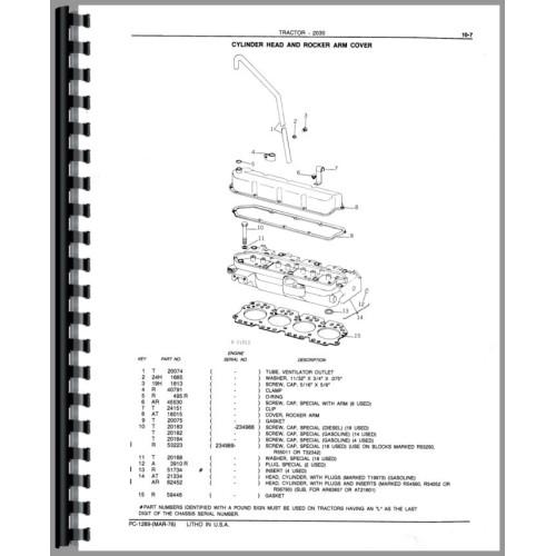 John Deere 2030 Parts Manual By Pearlinematlock3107 Manual Guide