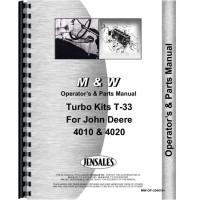 John Deere 4010 Tractor Turbo Kit Operators & Parts Manual