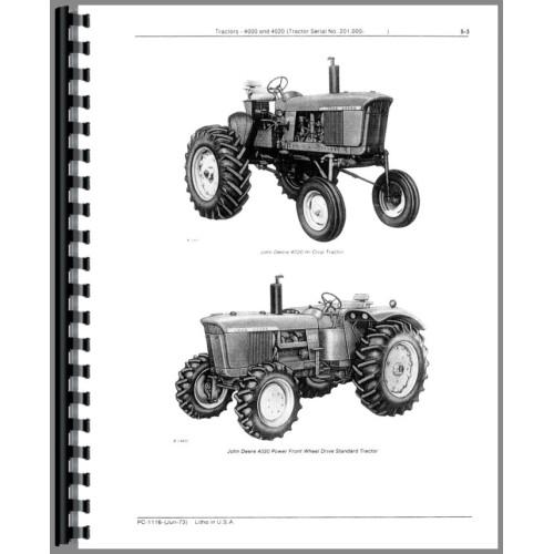 john deere 4020 tractor parts manual (sn 201,000 and up) (201,000 ) John Deere 4020 Clutch Diagram