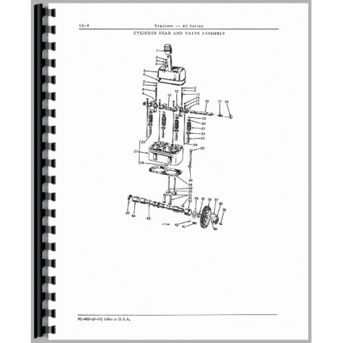 John Deere 40U Tractor Parts Manual on john deere 4020 wiring diagram for tractor, john deere 250 wiring diagram, john deere 265 wiring diagram, john deere 650 wiring diagram, john deere tractor wiring harness diagram, john deere mower wiring diagram, john deere ignition wiring diagram, john deere l111 wiring diagram, john deere wiring schematic, john deere radio wiring diagram, john deere sabre wiring diagram, john deere solenoid wiring diagram, john deere lawn tractor wiring diagram, john deere stx38 parts diagram, john deere 3010 hydraulic diagram, john deere 1050 parts diagram, john deere lawn tractors parts diagram, john deere hydraulic valve diagram, john deere 3020 wiring harness, john deere 5101 wiring diagrams,