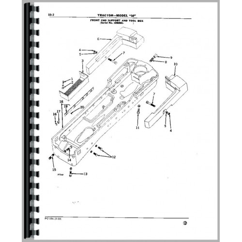 John Deere 50 Tractor Parts Manual Manual Guide