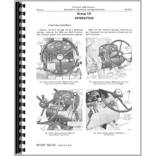 John Deere 4010 Tractor Service Manual (1960-63) (1960-63)