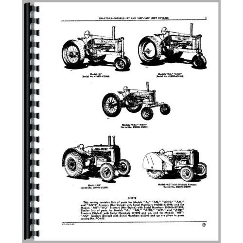 antique john deere tractor manuals