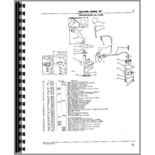 Parts manual for john deere 318 Backhoe