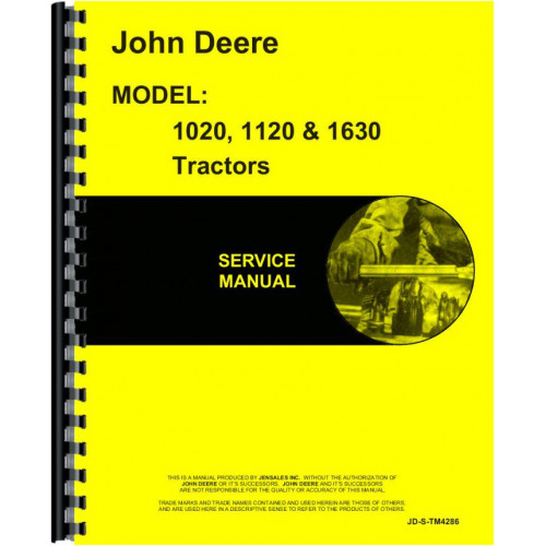 john deere 1630 tractor service manual rh jensales com Hesston 1120 Parts Manual Hesston 1120 Parts Manual