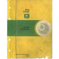 John Deere 3010 Tractor Parts Manual (NOS)