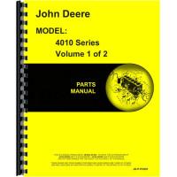 John Deere 4010 Tractor Parts Manual (NOS)