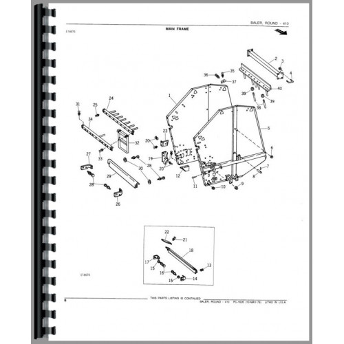 John_Deere 410 Round_Baler Parts_Manual_2 500x500 1990 john deere 410 wiring diagram john deere 410 controls, john john deere 6400 wiring diagram at webbmarketing.co