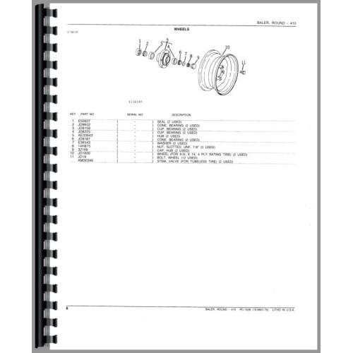 john deere parts manual download