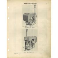 John Deere LUW Engine Parts Manual (NOS)