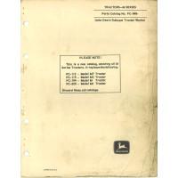 John Deere MC Crawler Parts Manual (NOS)