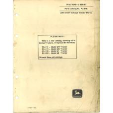 John Deere MT Tractor Parts Manual (NOS)