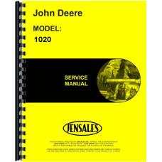 John Deere 1020 Tractor Service Manual (ROW CROP)