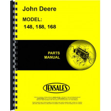 John Deere 158 Loader Attachment Parts Manual (Attachment)