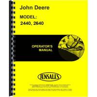 John Deere 2440 Tractor Operators Manual (SN# 341000 and Up) (341000+)
