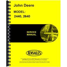 John Deere 2640 Tractor Service Manual (SN# 0-340,999)