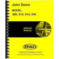 John Deere 300 Lawn & Garden Tractor Service Manual