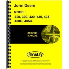 John Deere 430 Tractor Service Manual