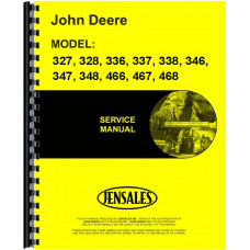 John Deere 467 Square Baler Service Manual