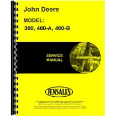 John Deere 480-A Forklift Service Manual