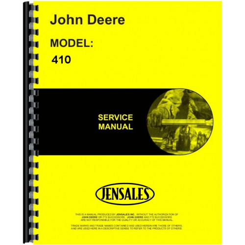 john deere 410 industrial tractor service manual rh jensales com