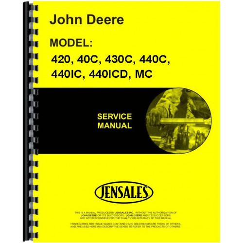 john deere crawler service manual rh jensales com John Deere Dozer John Deere Dozer
