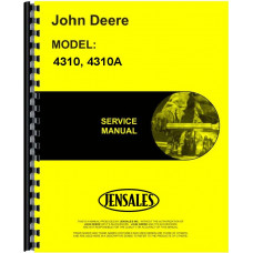 John Deere 4310A Beet Harvester Service Manual