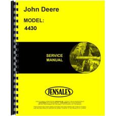 John Deere 4430 Tractor Service Manual (SN# 0-33108)