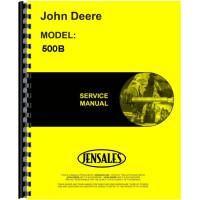 Image of John Deere 500B Tractor Loader Backhoe Service Manual