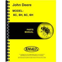 John Deere 6H Plow Parts Manual (Tractor-Drawn, Moldboard, 2-5 Bottom)