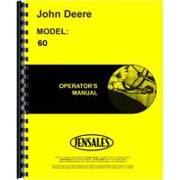 John Deere 60 Tractor Operators Manual (SN# 6000001-6199999)