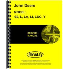 John Deere LA Tractor Service Manual (1941-1946)