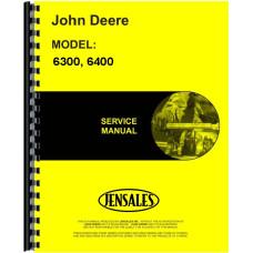 John Deere 6400 Bulldozer Attachment Service Manual