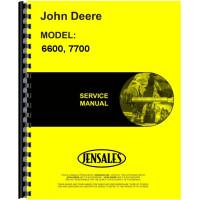 John Deere 7700 Combine Service Manual (TM1021)