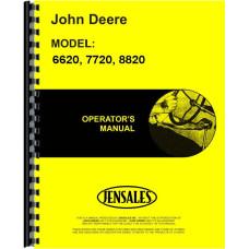 John Deere 7720 Combine Operators Manual (0-551900) (Diesel)