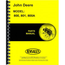 John Deere 801 3 Point Hitch Parts Manual